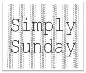Simply Sunday button